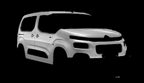 Цвета кузова Berlingo Multispace